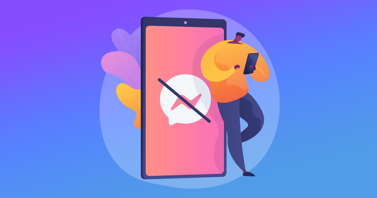 Cómo enviar un mensaje a una persona que te bloqueó en Facebook Messenger